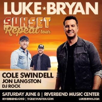 1662b0c2ef9d2 tickets to see Luke Bryan at Riverbend. 3 hours daily